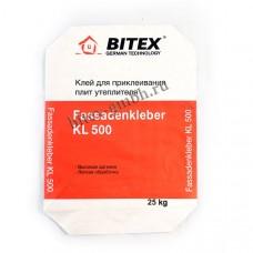 Клей для приклеивания плит утепления BITEX FassadenKleber KL 500