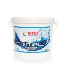 Матовая краска для внутренних работ Bitex Mattlatex